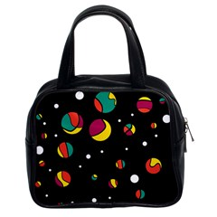 Colorful Dots Classic Handbags (2 Sides)