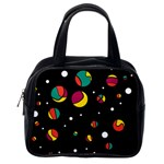 Colorful dots Classic Handbags (2 Sides) Back