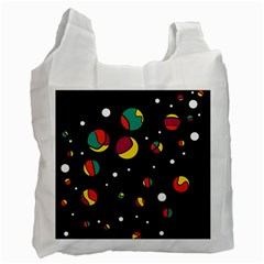 Colorful Dots Recycle Bag (one Side) by Valentinaart