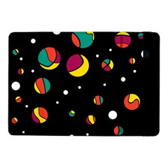 Colorful Dots Samsung Galaxy Tab Pro 10 1  Flip Case