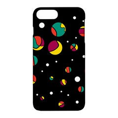 Colorful Dots Apple Iphone 7 Plus Hardshell Case by Valentinaart