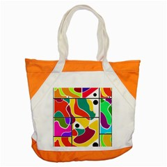 Colorful Windows  Accent Tote Bag by Valentinaart