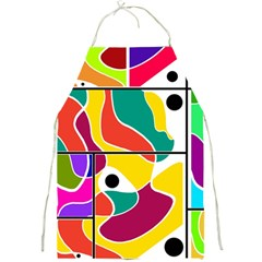Colorful Windows  Full Print Aprons by Valentinaart