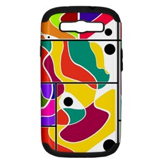 Colorful Windows  Samsung Galaxy S Iii Hardshell Case (pc+silicone)