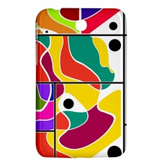 Colorful Windows  Samsung Galaxy Tab 3 (7 ) P3200 Hardshell Case  by Valentinaart