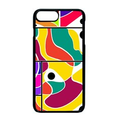 Colorful Windows  Apple Iphone 7 Plus Seamless Case (black)