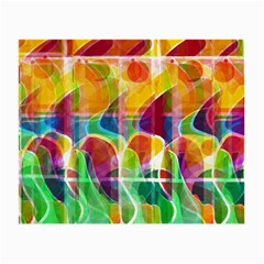 Abstract Sunrise Small Glasses Cloth by Valentinaart