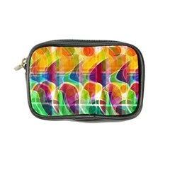 Abstract Sunrise Coin Purse by Valentinaart