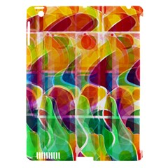 Abstract Sunrise Apple Ipad 3/4 Hardshell Case (compatible With Smart Cover)