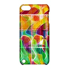 Abstract Sunrise Apple Ipod Touch 5 Hardshell Case With Stand by Valentinaart