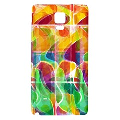 Abstract Sunrise Galaxy Note 4 Back Case