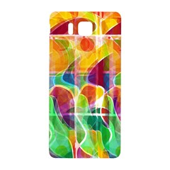 Abstract Sunrise Samsung Galaxy Alpha Hardshell Back Case by Valentinaart