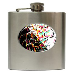 Little Things  Hip Flask (6 Oz) by Valentinaart