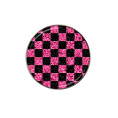 Square1 Black Marble & Pink Marble Hat Clip Ball Marker (10 Pack) by trendistuff