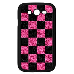 Square1 Black Marble & Pink Marble Samsung Galaxy Grand Duos I9082 Case (black) by trendistuff