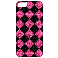 Square2 Black Marble & Pink Marble Apple Iphone 5 Classic Hardshell Case by trendistuff