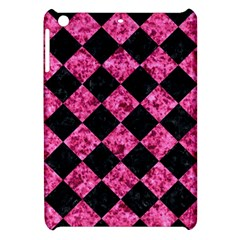 Square2 Black Marble & Pink Marble Apple Ipad Mini Hardshell Case by trendistuff