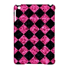 Square2 Black Marble & Pink Marble Apple Ipad Mini Hardshell Case (compatible With Smart Cover) by trendistuff