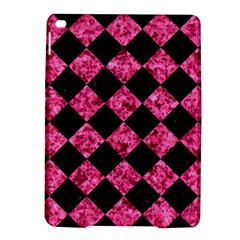 Square2 Black Marble & Pink Marble Apple Ipad Air 2 Hardshell Case by trendistuff