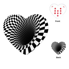 Optical Illusions Playing Cards (heart)