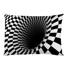 Optical Illusions Pillow Case (two Sides) by AnjaniArt