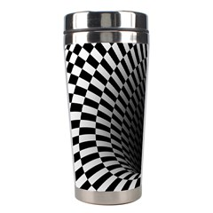 Optical Illusions Stainless Steel Travel Tumblers by AnjaniArt