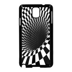 Optical Illusions Samsung Galaxy Note 3 Neo Hardshell Case (black) by AnjaniArt