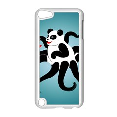 Panda Octopus Fish Blue Apple Ipod Touch 5 Case (white)