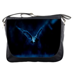 Night Owl Wide Messenger Bags