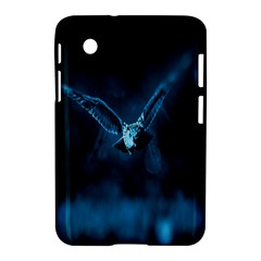 Night Owl Wide Samsung Galaxy Tab 2 (7 ) P3100 Hardshell Case  by AnjaniArt