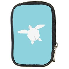 Pet Turtle Paper Origami Compact Camera Cases