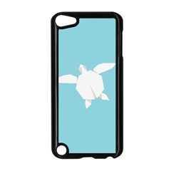 Pet Turtle Paper Origami Apple Ipod Touch 5 Case (black)