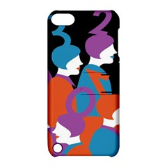 People Apple Ipod Touch 5 Hardshell Case With Stand by AnjaniArt