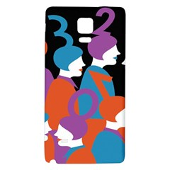 People Galaxy Note 4 Back Case by AnjaniArt