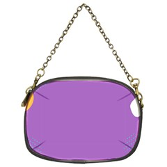 Purple Chain Purses (two Sides)