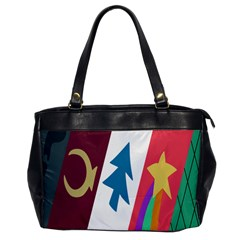 Star Color Office Handbags by AnjaniArt