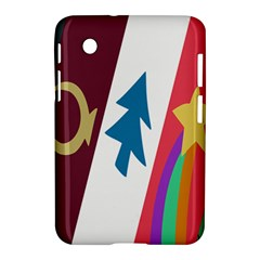 Star Color Samsung Galaxy Tab 2 (7 ) P3100 Hardshell Case  by AnjaniArt