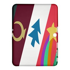 Star Color Samsung Galaxy Tab 4 (10 1 ) Hardshell Case  by AnjaniArt