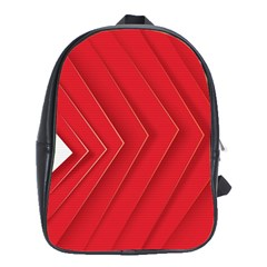 Rank Red White School Bags (xl)