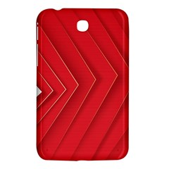Rank Red White Samsung Galaxy Tab 3 (7 ) P3200 Hardshell Case