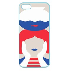 Woman Apple Seamless Iphone 5 Case (color)