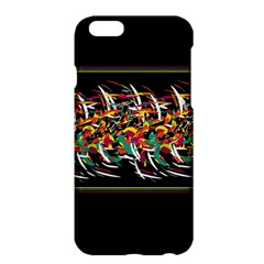 Colorful Barbwire  Apple Iphone 6 Plus/6s Plus Hardshell Case by Valentinaart