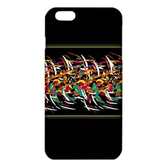 Colorful Barbwire  Iphone 6 Plus/6s Plus Tpu Case by Valentinaart