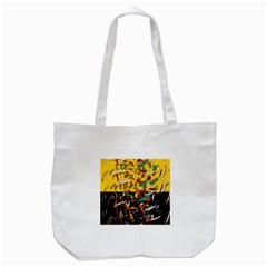 Little Things 2 Tote Bag (white) by Valentinaart