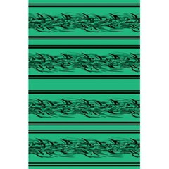 Green Barbwire 5 5  X 8 5  Notebooks by Valentinaart