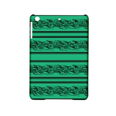 Green Barbwire Ipad Mini 2 Hardshell Cases by Valentinaart