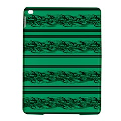 Green Barbwire Ipad Air 2 Hardshell Cases by Valentinaart