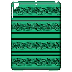 Green Barbwire Apple Ipad Pro 9 7   Hardshell Case by Valentinaart