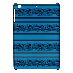 Blue Barbwire Apple Ipad Mini Hardshell Case by Valentinaart