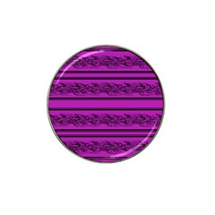 Magenta Barbwire Hat Clip Ball Marker (4 Pack) by Valentinaart
